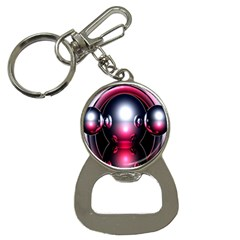 Red 3d  Computer Work Bottle Opener Key Chains