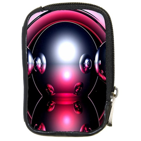 Red 3d  Computer Work Compact Camera Cases