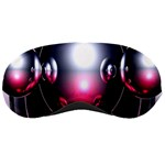 Red 3d  Computer Work Sleeping Masks Front