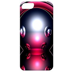 Red 3d  Computer Work Apple iPhone 5 Classic Hardshell Case