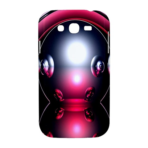 Red 3d  Computer Work Samsung Galaxy Grand DUOS I9082 Hardshell Case
