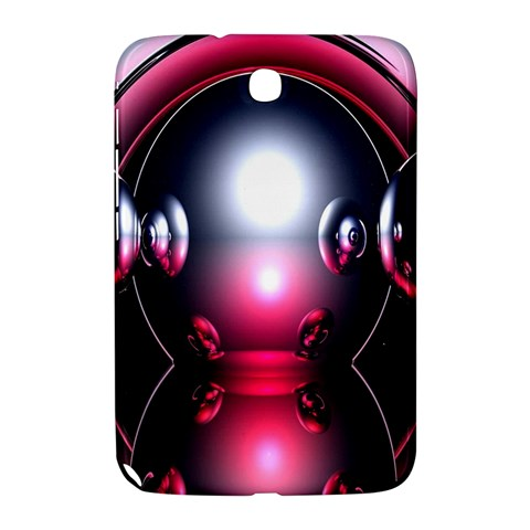 Red 3d  Computer Work Samsung Galaxy Note 8.0 N5100 Hardshell Case
