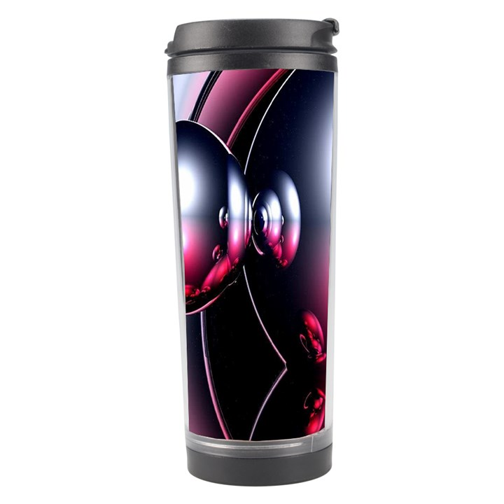 Red 3d  Computer Work Travel Tumbler