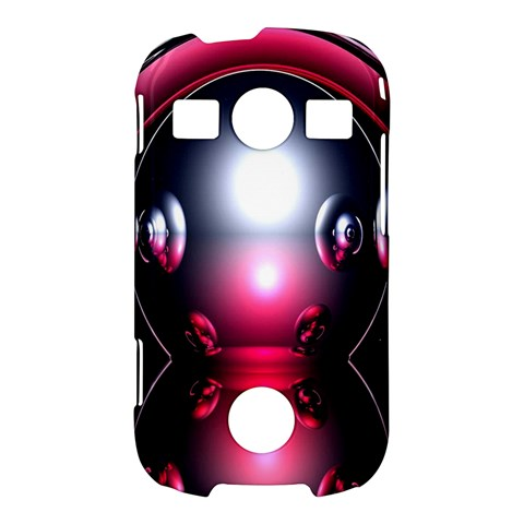 Red 3d  Computer Work Samsung Galaxy S7710 Xcover 2 Hardshell Case