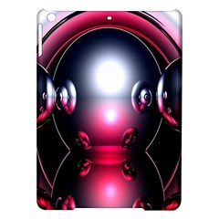 Red 3d  Computer Work iPad Air Hardshell Cases