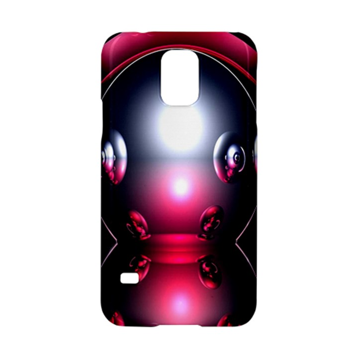 Red 3d  Computer Work Samsung Galaxy S5 Hardshell Case