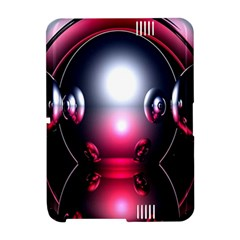 Red 3d  Computer Work Amazon Kindle Fire (2012) Hardshell Case
