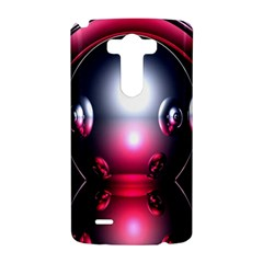 Red 3d  Computer Work LG G3 Hardshell Case