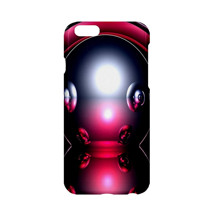 Red 3d  Computer Work Apple iPhone 6/6S Hardshell Case