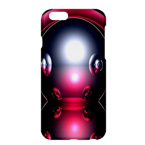 Red 3d  Computer Work Apple iPhone 6 Plus/6S Plus Hardshell Case