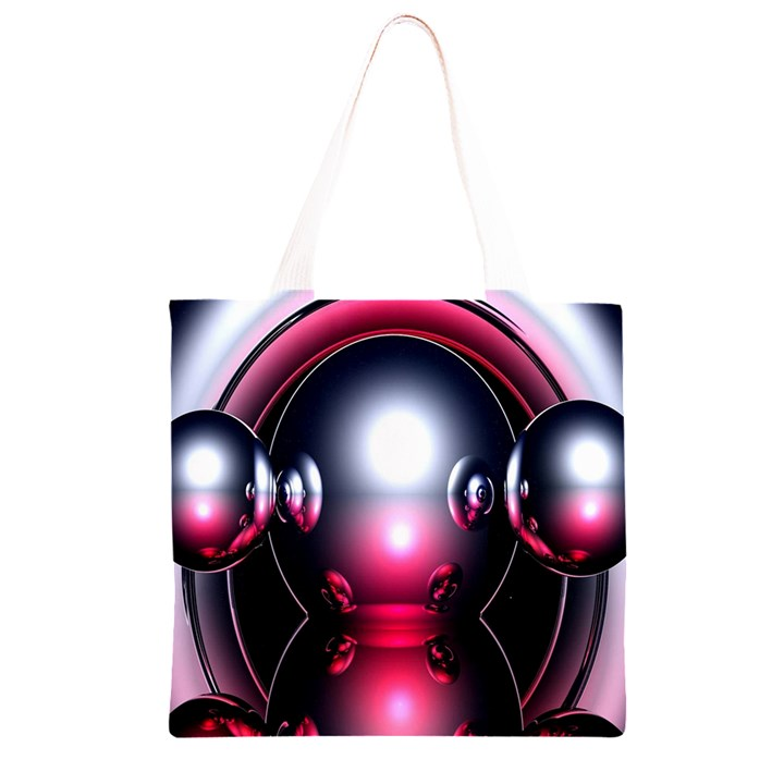 Red 3d  Computer Work Grocery Light Tote Bag