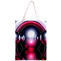 Red 3d  Computer Work Classic Light Tote Bag