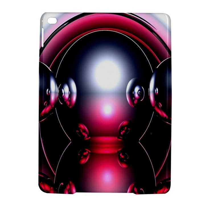 Red 3d  Computer Work iPad Air 2 Hardshell Cases