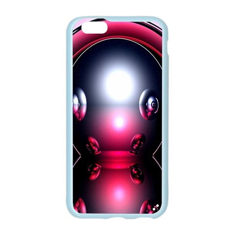 Red 3d  Computer Work Apple Seamless iPhone 6/6S Case (Color)