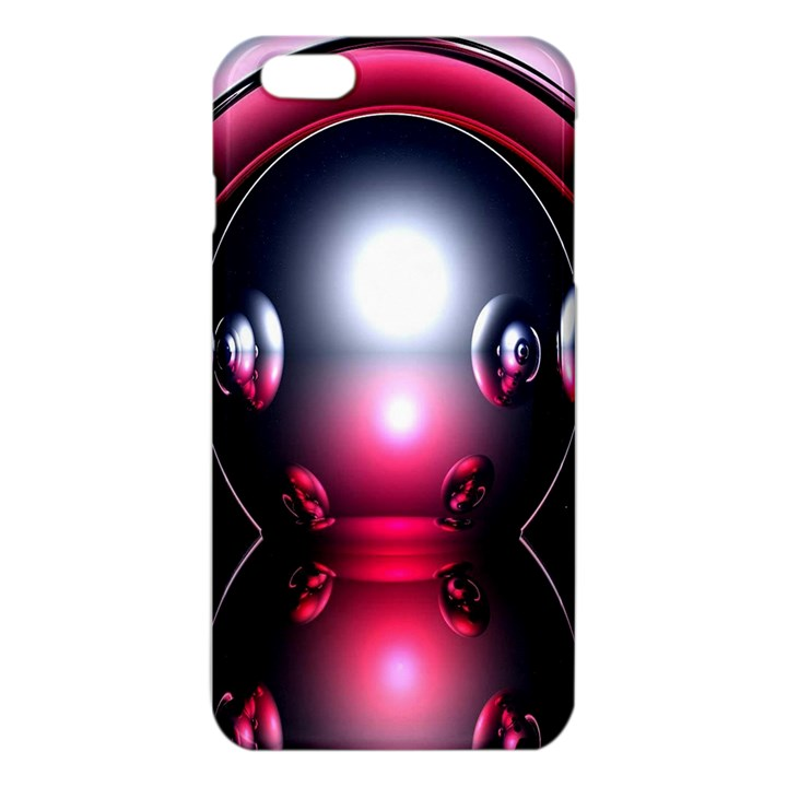 Red 3d  Computer Work iPhone 6 Plus/6S Plus TPU Case