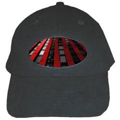 Red Building City Black Cap