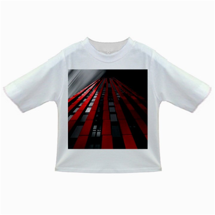 Red Building City Infant/Toddler T-Shirts