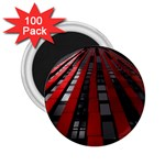 Red Building City 2.25  Magnets (100 pack)  Front