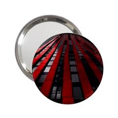 Red Building City 2.25  Handbag Mirrors
