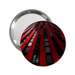 Red Building City 2.25  Handbag Mirrors Front
