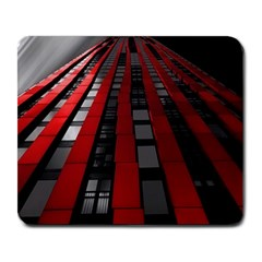 Red Building City Large Mousepads