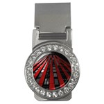 Red Building City Money Clips (CZ)  Front