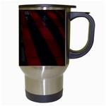 Red Building City Travel Mugs (White) Right