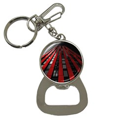 Red Building City Bottle Opener Key Chains