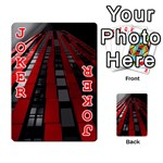 Red Building City Playing Cards 54 Designs  Front - Joker2