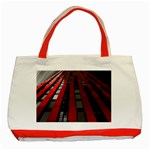 Red Building City Classic Tote Bag (Red) Front