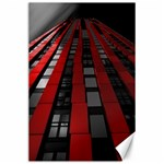 Red Building City Canvas 24  x 36  36 x24 Canvas - 1