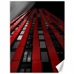 Red Building City Canvas 36  x 48   48 x36 Canvas - 1