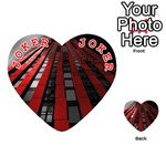 Red Building City Playing Cards 54 (Heart)  Front - Joker2
