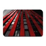 Red Building City Plate Mats 18 x12 Plate Mat - 1