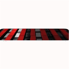 Red Building City Small Bar Mats