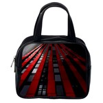 Red Building City Classic Handbags (One Side) Front