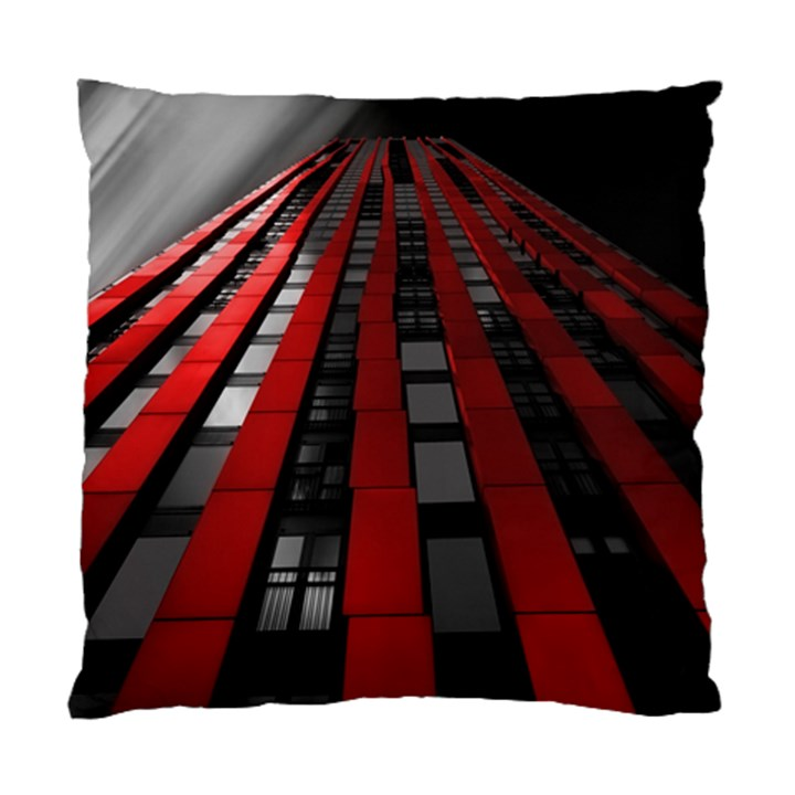 Red Building City Standard Cushion Case (One Side)