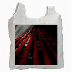 Red Building City Recycle Bag (One Side)