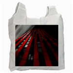 Red Building City Recycle Bag (One Side) Front