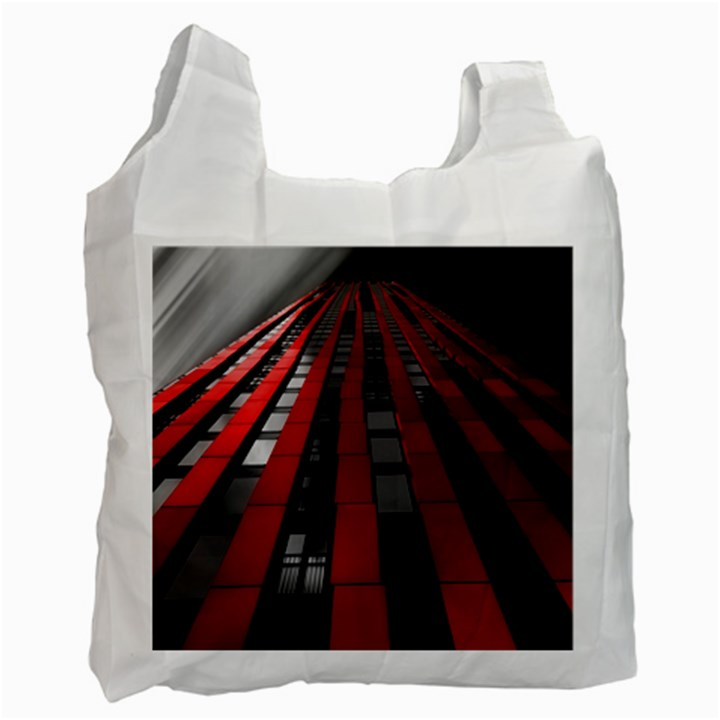 Red Building City Recycle Bag (Two Side)
