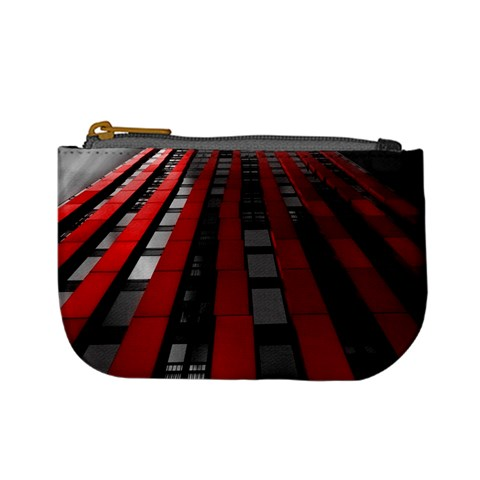 Red Building City Mini Coin Purses