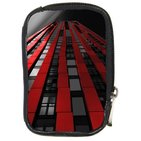 Red Building City Compact Camera Cases