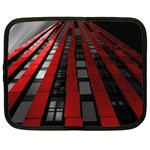 Red Building City Netbook Case (XL)  Front