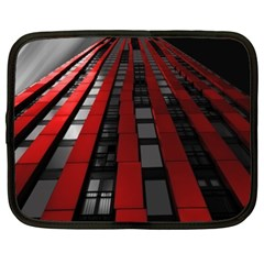 Red Building City Netbook Case (XXL)