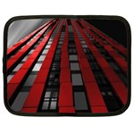 Red Building City Netbook Case (XXL)  Front