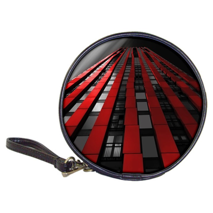 Red Building City Classic 20-CD Wallets
