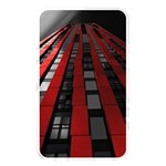 Red Building City Memory Card Reader Front