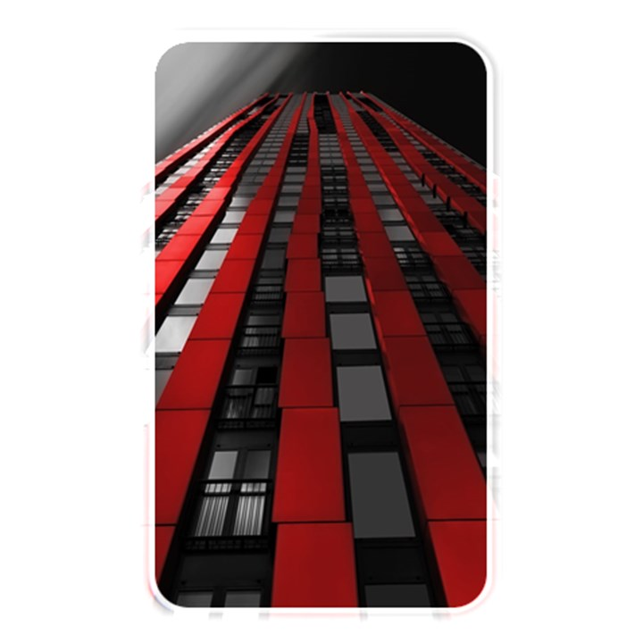 Red Building City Memory Card Reader