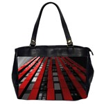 Red Building City Office Handbags (2 Sides)  Front