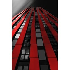 Red Building City 5.5  x 8.5  Notebooks